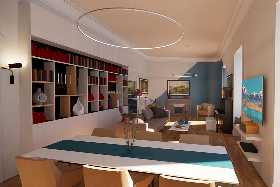 ReBuilt Studio -C+V HOUSE-NAPOLI 1