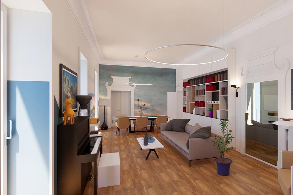 ReBuilt Studio -C+V HOUSE-NAPOLI 2